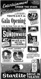 July 9th, 1950 grand opening ad