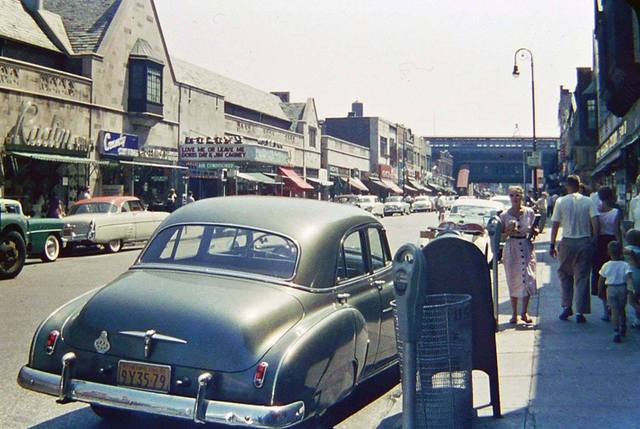 1955 photo courtesy of the AmeriCar The Beautiful Facebook page.