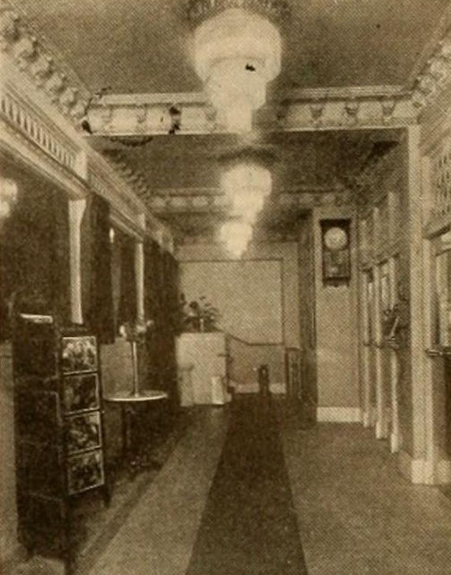 Lobby, American Theatre, Terre Haute, Indiana, 1916