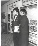 Liza Minnelli and Desi Arnaz Jr at LOST HORIZON premiere at  MANN'S NATIONAL