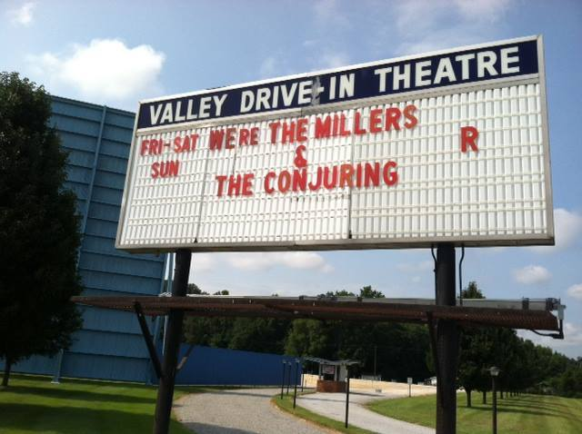 Valley Drive-In during the 2013 season