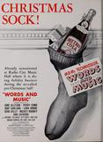 "Radio City Music Hall 1948 Ad ""Words and Music"""