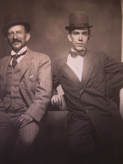 Isadore and Bert Lebey