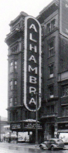 ALHAMBRA Theatre; Milwaukee, Wisconsin.
