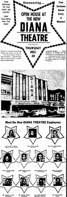 December 19th, 1962 opening announcement