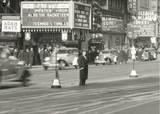 Man in Times Square January 11, 1934 Photo credit & courtesy of Duke University Collection.