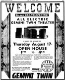 August 16th, 1972 grand opening ad
