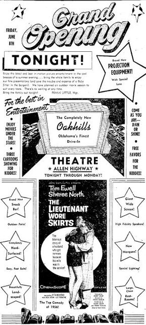 June 8th, 1956 grand opening ad