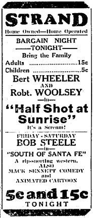June 2nd, 1932 first ad