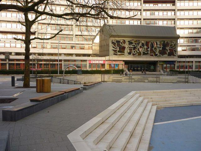 Hofplein Rotterdam Building