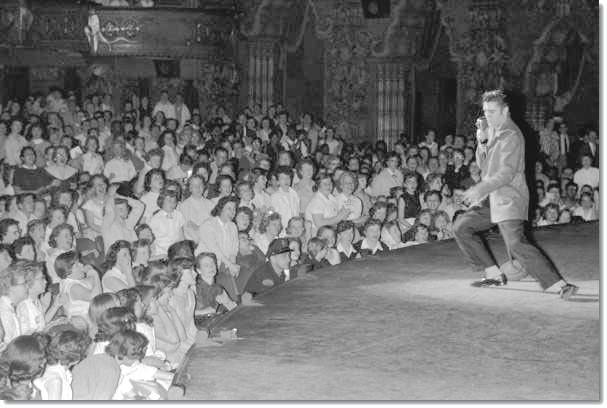 Another angle of Elvis at the Fox.