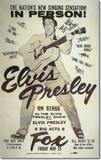 <p>Poster for the Elvis show at the Fox.</p>