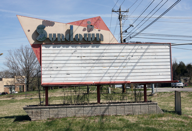 Sundown Drive-In, Columbia, TN