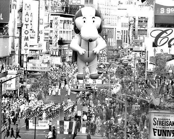 1969 Thanksgiving Day Parade photo credit Robert Juzefski.