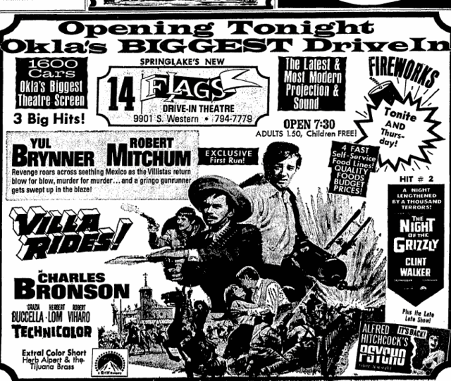 July 3rd, 1968 grand opening ad