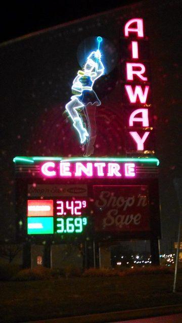 Airway at Night
