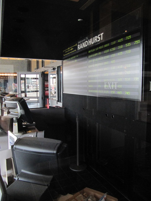 Interior of Ticket Booth