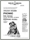 """Picnic"" opened at RCMH on February 15th, 1956."