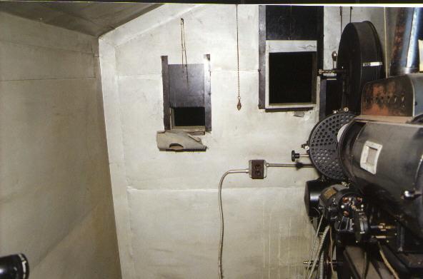 Booth far left porthole