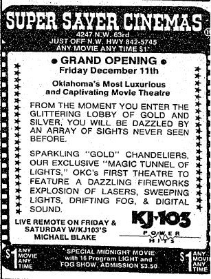 December 11th, 1987 grand opening ad