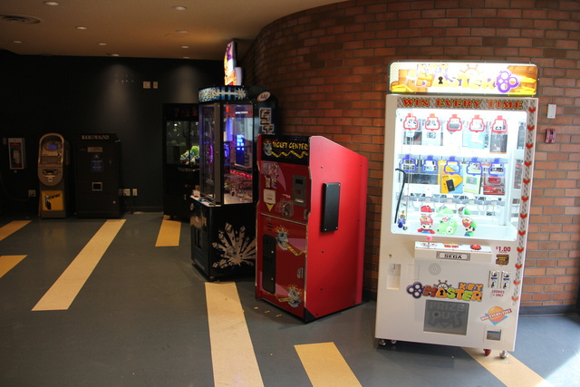 The Zone arcade and ticket machines