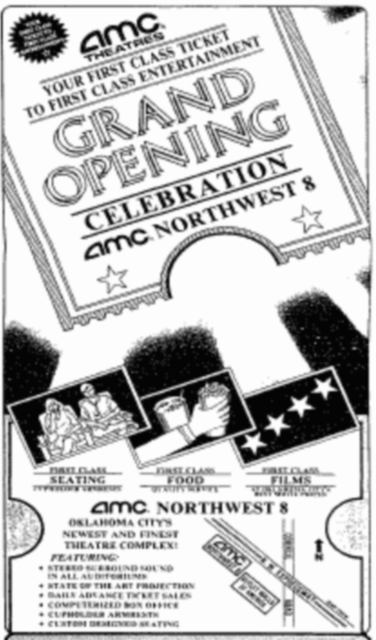 1986 grand opening ad