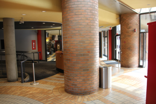 Main lobby and large pillars