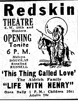 August 6th, 1941 grand opening ad