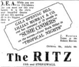 1928 grand opening ad