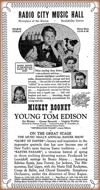 """Young Tom Edison"""