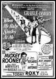 Mickey Rooney in person at the Roxy!