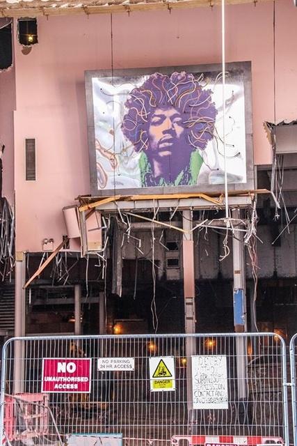 Demolishing Auditorium