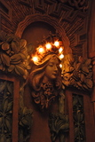 <p>Inner lobby lighting fixture</p>