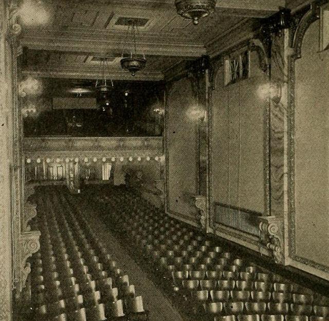 Auditorium, The Theatorium, Mt. Carmel, Pa, 1913