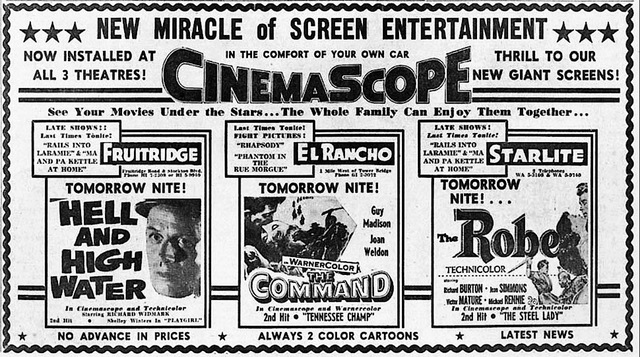 CinemaScope Comes to the Drive-In!