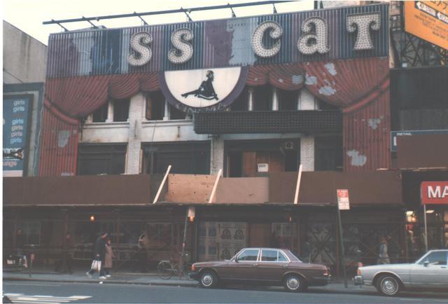 NYC TranLux 49th St aka Pussycat Cinema Demolition 1986