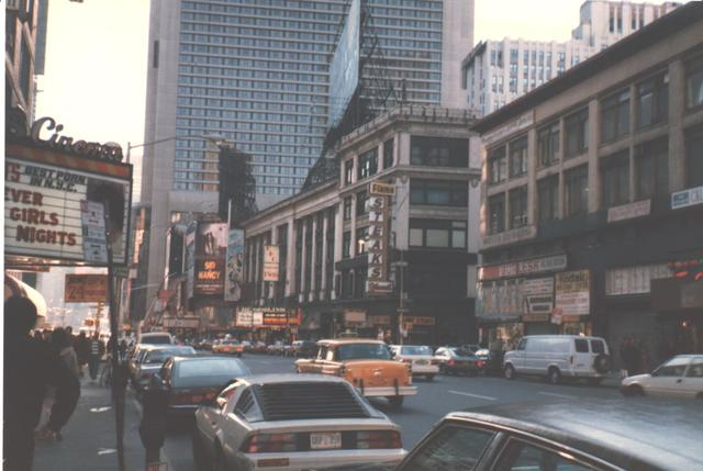 Former STRAND Theatre NYC 1986