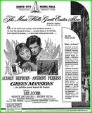 Green Mansions was the Easter attraction in 1959