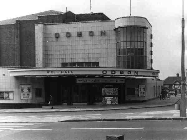 Well Hall Odeon on 1956