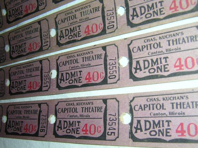 CAPITOL Theatre; Canton, Illinois.