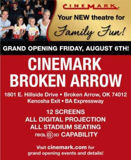 August 6th, 2010 grand opening web ad