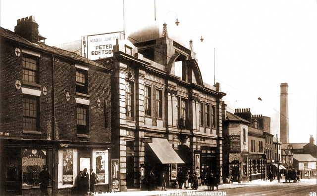 1921, Buttermarket Street, The new Empire Cinema & Billiard Hall.