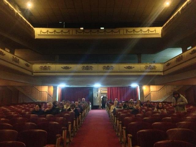 The auditorium stall