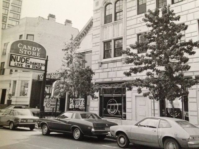 Circa 1975 as The Candy Store, photo courtesy of Eric Kromelow.