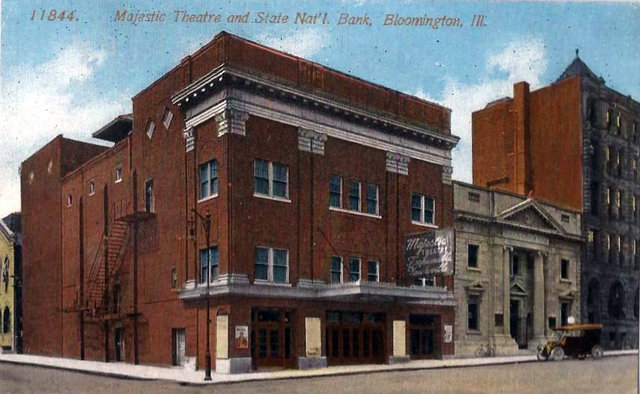 MAJESTIC Theatre; Bloomington, Illinois.