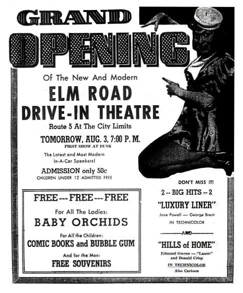 Elm Road Triple Drive-In
