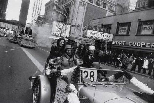 1972 St. Patrick's Day Parade. Photo credit Garry Winogrand.