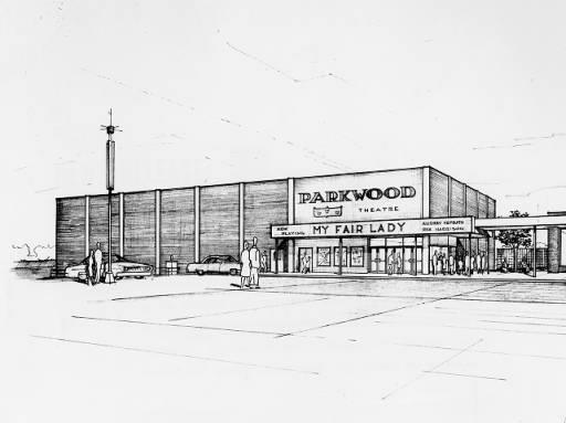 Parkwood Theatre Artist's Rendering.