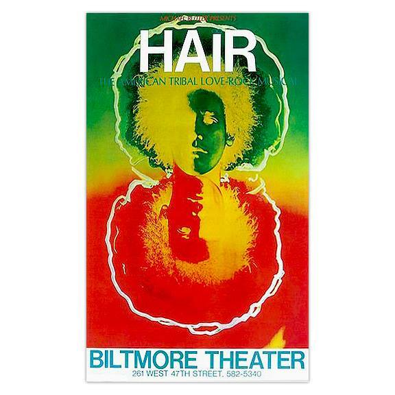 "Biltmore ""Hair"" poster image courtesy of www.BoomUnderground.com"