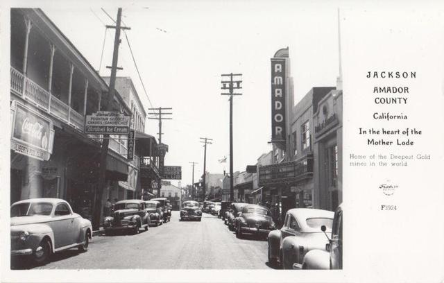Mid `40's Post card image courtesy of Kenneth McIntyre.